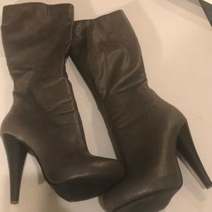 Michael Antonio Gray Heeled Boot